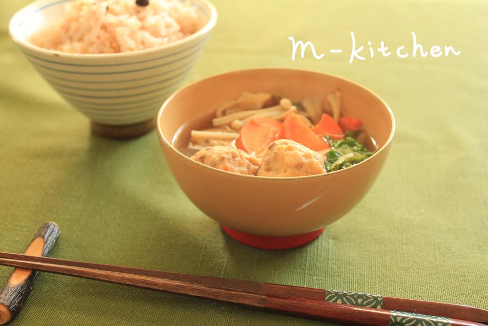 たかきびのスープ 朝ごはん