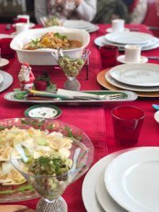 クリスマスの雑穀料理