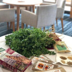 """雑穀のある食卓~キヌアとパクチーで""""夏のマリアージュ"""
