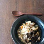 はと麦と舞茸のスープ