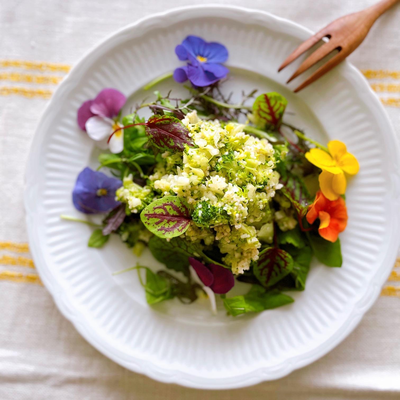 春のサラダ
